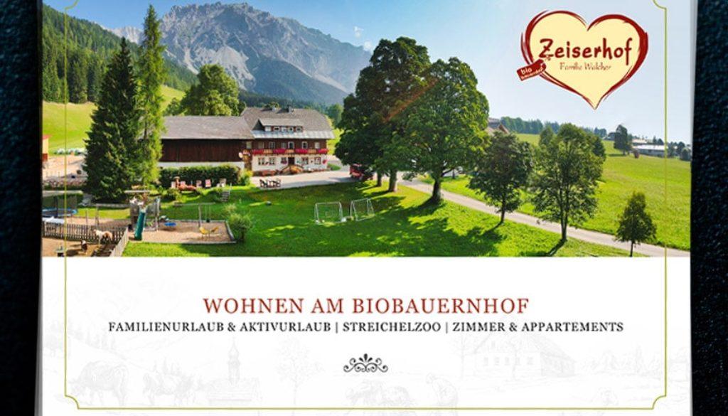 Broschüre Zeiserhof